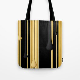 DRIPPING IN GOLD Tote Bag