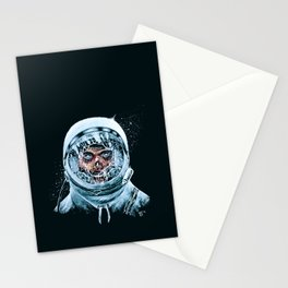 Zombie Spaceman Stationery Cards