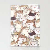 hamster Stationery Cards featuring Hamster Paradise by AquaZircon (LumiiLoup)