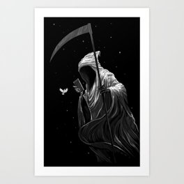 """ Night Mode "" Art Print"