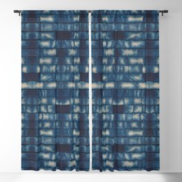 Shibori Sticks Blackout Curtain