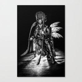 I AM A King (B/W) Canvas Print