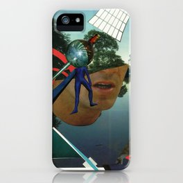 Open your mouth and say a iPhone Case