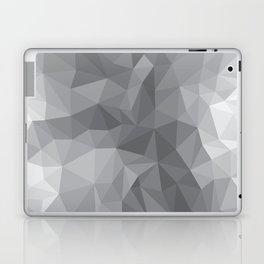 Gray Polygon Background Laptop & iPad Skin