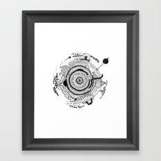 Little planet Framed Art Print