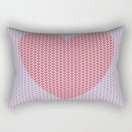 Heart Overload Valentine Issues Rectangular Pillow