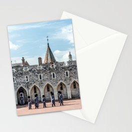 Changing of the Guard Windsor Castle England  Stationery Cards