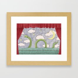 Paper Theatre Framed Art Print