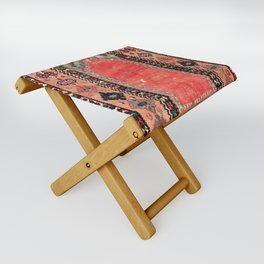 Sivas  Antique Cappadocian Turkish Niche Kilim Print Folding Stool