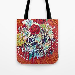 Brighten Your Day Flowers Tote Bag