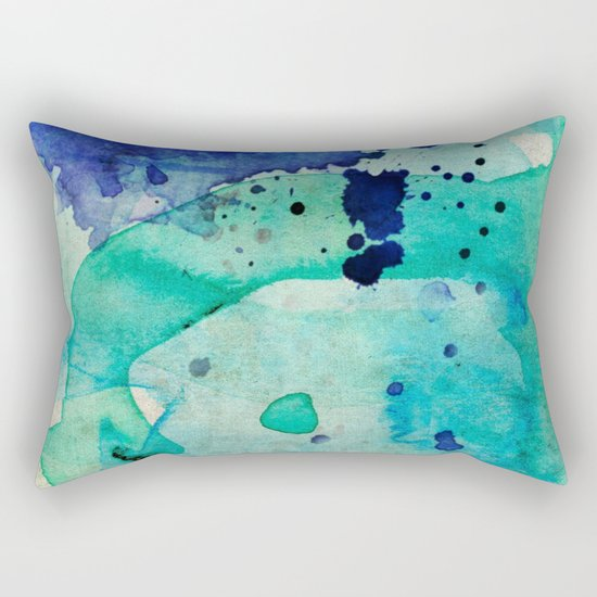 Pastel Color Splash 02 Rectangular Pillow