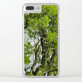 Forest Tears Clear iPhone Case