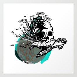 Sea Rules Art Print