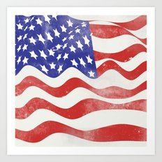 United States Flag - USA Art Print