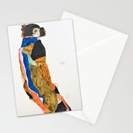 Egon Schiele - Moa - Digital Remastered Edition Stationery Cards