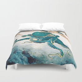 Underwater Dream V Duvet Cover