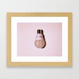 Pinked Framed Art Print
