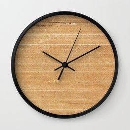Book Pages Wall Clock