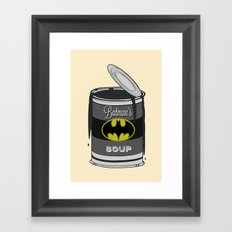 Batsoup Framed Art Print