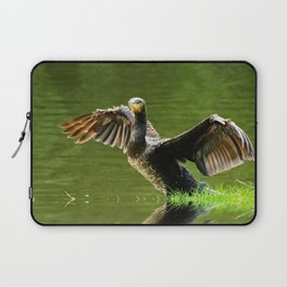 Cormorant flight Laptop Sleeve