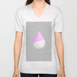 Purple Drop Unisex V-Neck