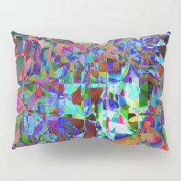 Displaced Reality Pillow Sham