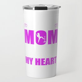 Tee Ball Moms Full Heart Mothers Day T-Shirt Travel Mug