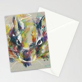 Cute degu Stationery Cards