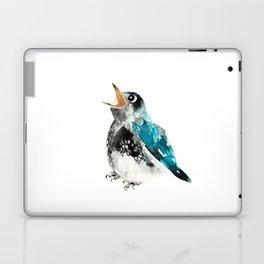 Bluebird Birthday Wish Laptop & iPad Skin