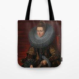Tudor Lady in large Ruff collar Tote Bag