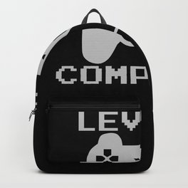 Gamer Level 9 Gift Kids Birthday Backpack