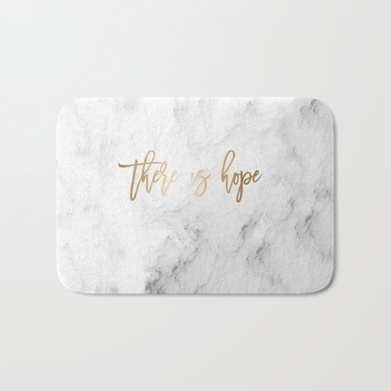 There Is Hope Bath Mat