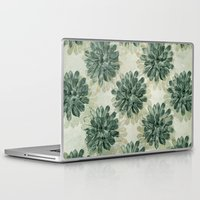 succulents Laptop & iPad Skins featuring Succulents by Sandra Arduini
