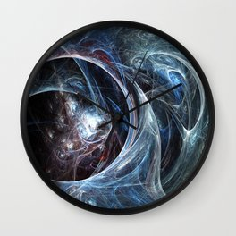 Spider's Cave Wall Clock