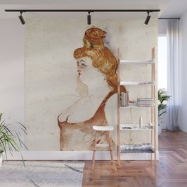 Henri de Toulouse-Lautrec - Mademoiselle Cocyte in La Belle Hélène Wall Mural