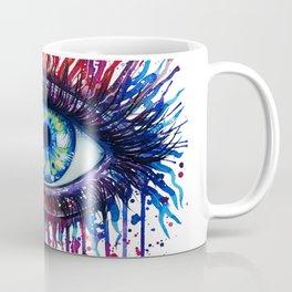 Colorful Eye Coffee Mug