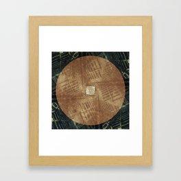 Arithmetik II Framed Art Print