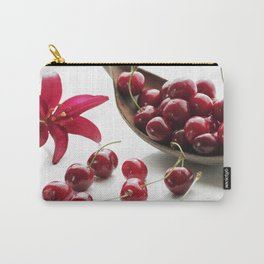 Fresh cherries straight from the tree Carry-All Pouch