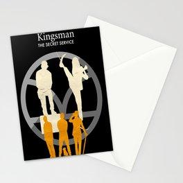 Kingsman- The Secret Service Minimalist Poster Stationery Cards
