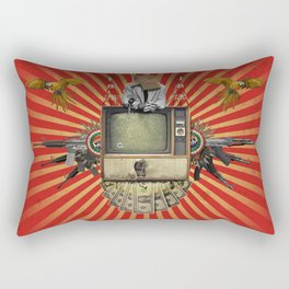 The Revolution Will Not Be Televised! Rectangular Pillow