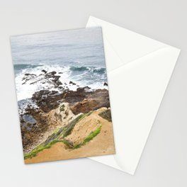 The Pacific Coast Along PVE, CA Stationery Cards