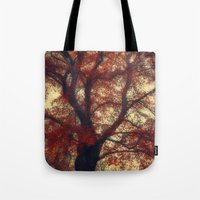 copper Tote Bags featuring Copper Beech by Dirk Wuestenhagen Imagery