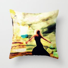 Find Freedom Throw Pillow
