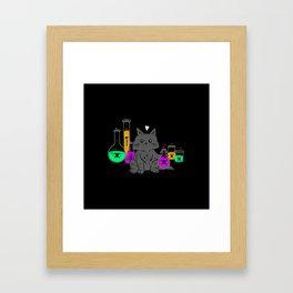 I Think My Cat Wants to Kill Me Framed Art Print