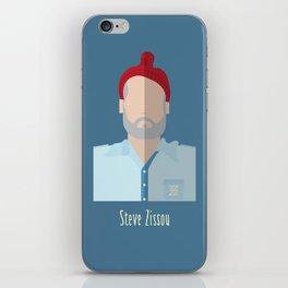 Steve Zissou iPhone Skin
