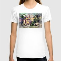 rome T-shirts featuring Rome architecture by jbjart