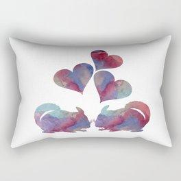Chinchilla art Rectangular Pillow