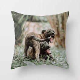 Dogs Throw Pillow