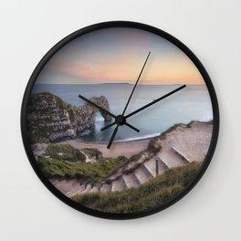 Winding Way to Durdle Door Wall Clock