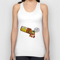 pills Tank Tops featuring Sugar Pills by Beastie Toyz